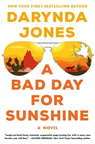 book coever for a bad day for sunshine