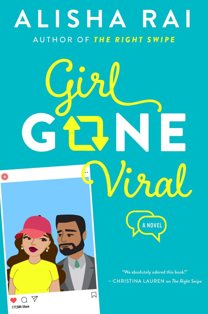 book cover for girl gone viral