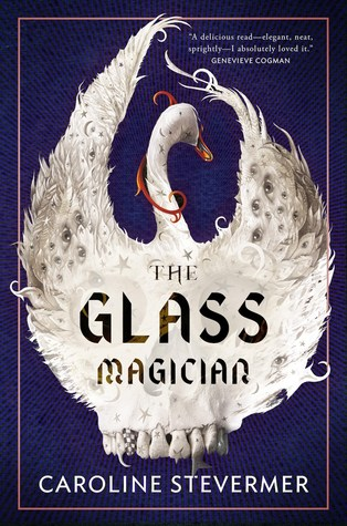 book cover the glass magician