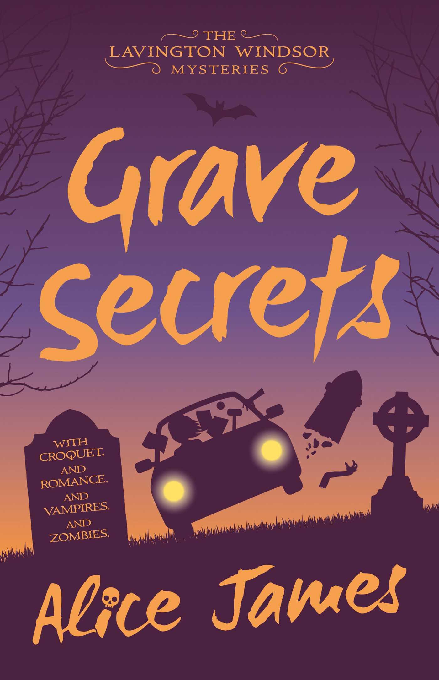 book cover for grave secrets