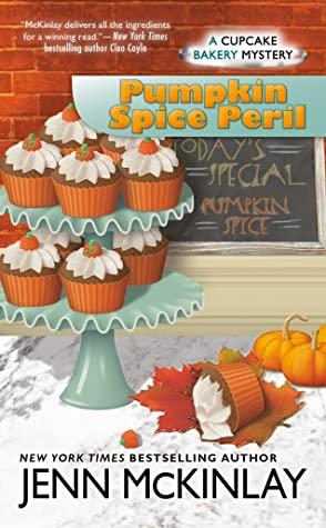 book cover for pumpkin spice peril