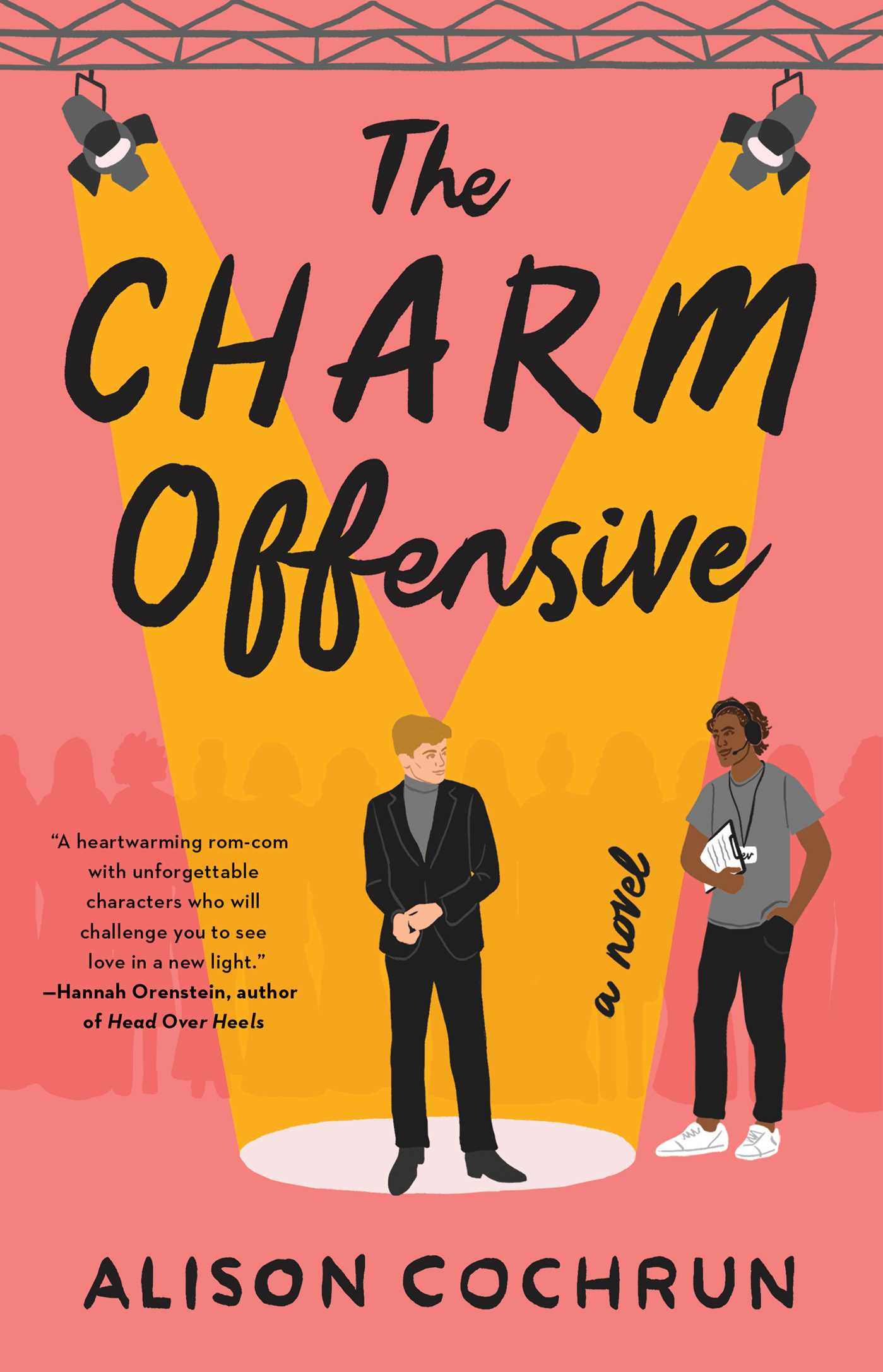 book cover for The Charm Offensive