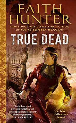 book cover for true dead